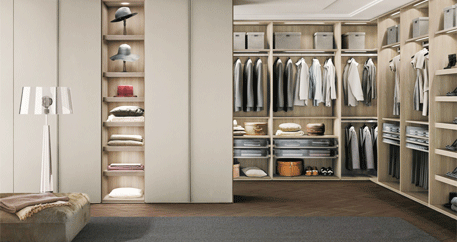定制衣柜四种设计形式(图1)